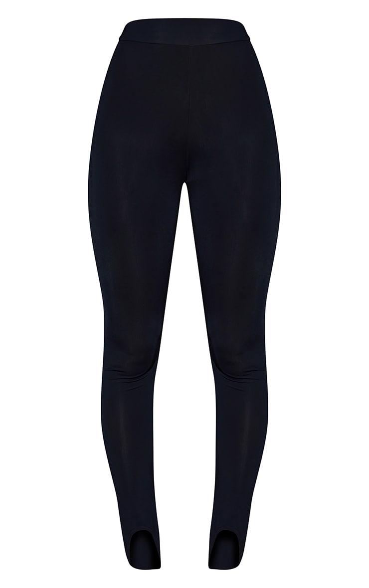 Black Stirrup Gym Leggings 5