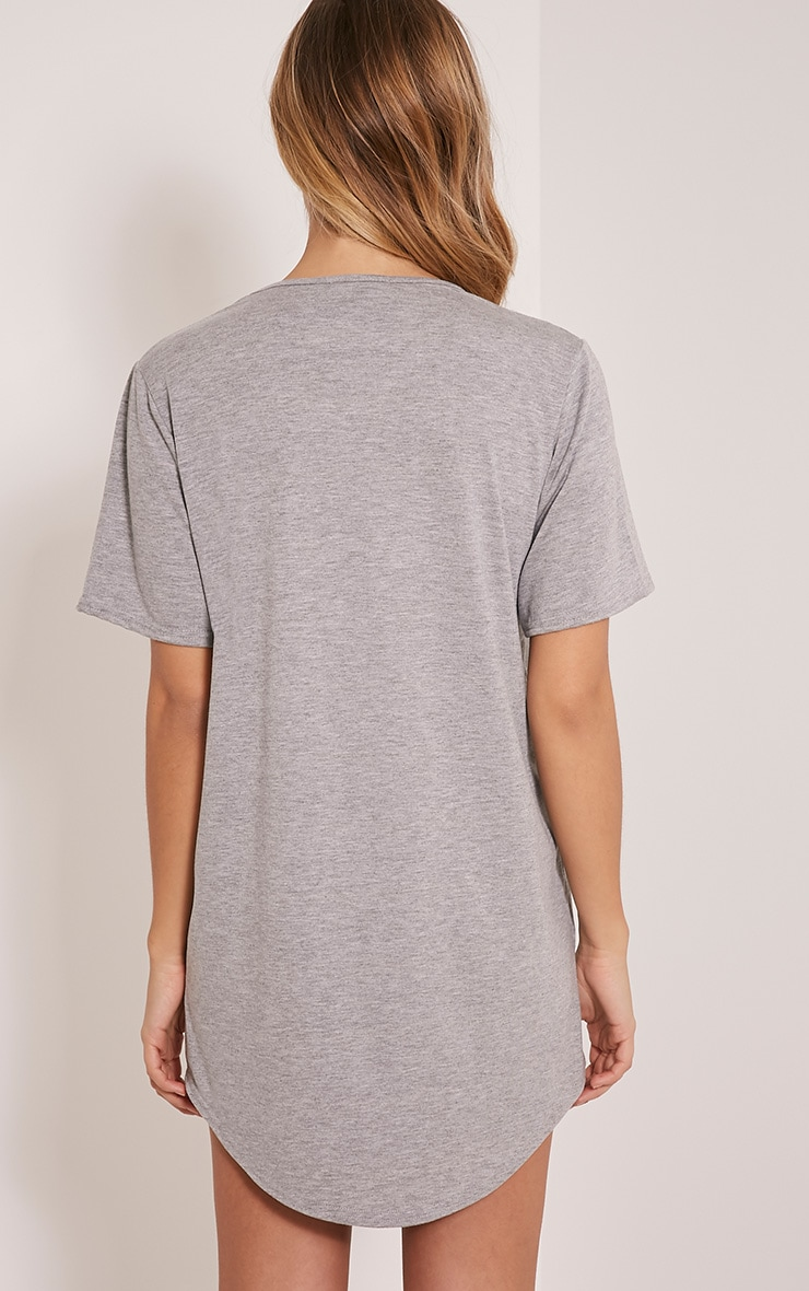 Best Bitches Grey Two Pack Oversized Nightshirt 5