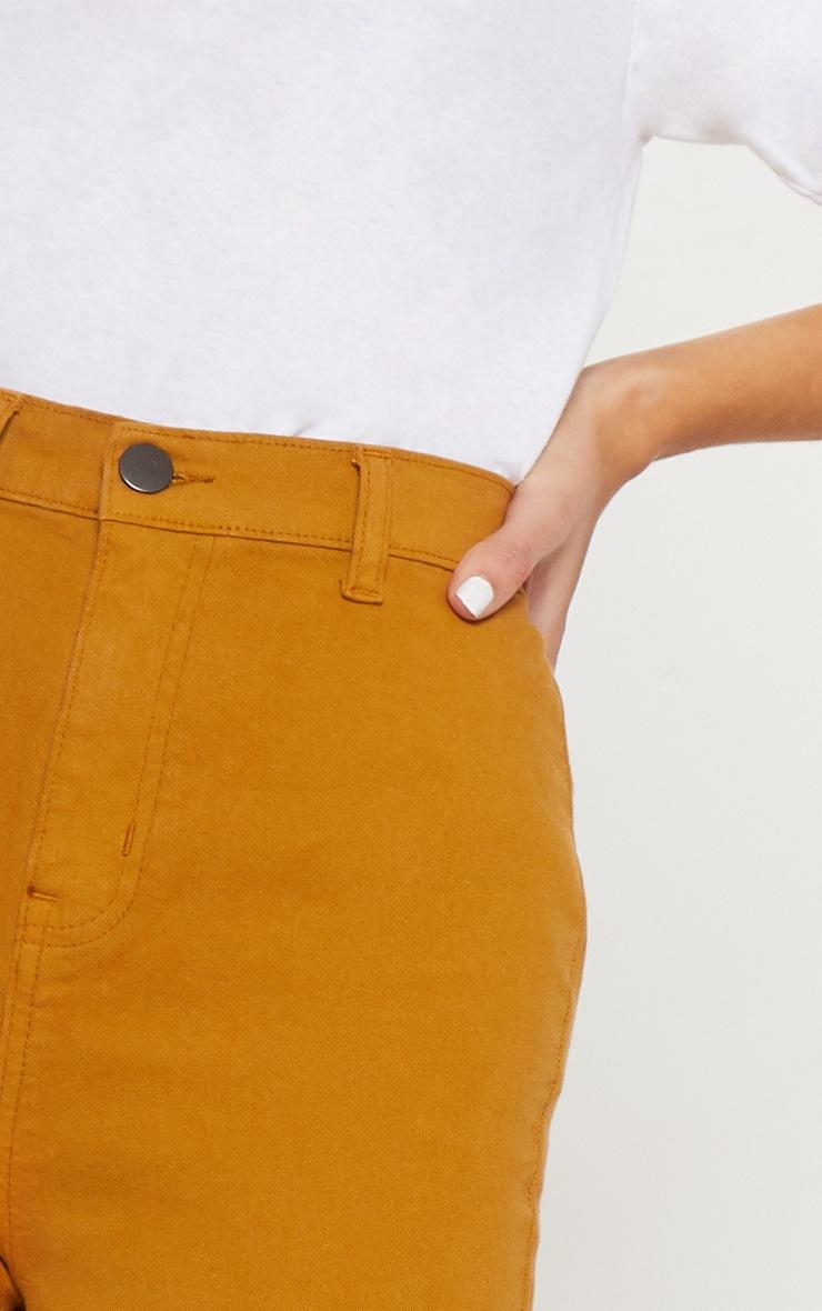 Mustard Disco Fit Skinny Jean 4
