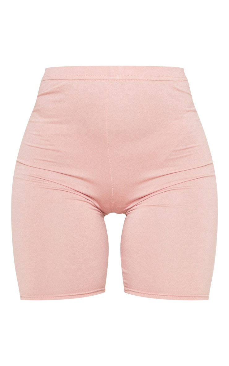 Basic Dusty Rose Cycle Shorts 6