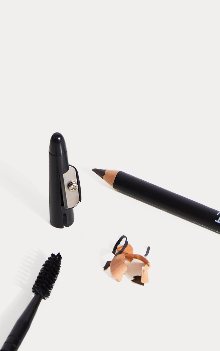 The BrowGal Skinny Eyebrow Pencil 01 Black 3