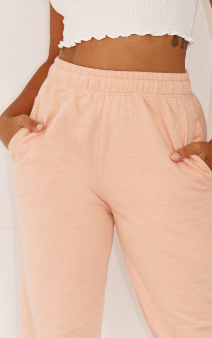 Petite Peach Casual Joggers 4