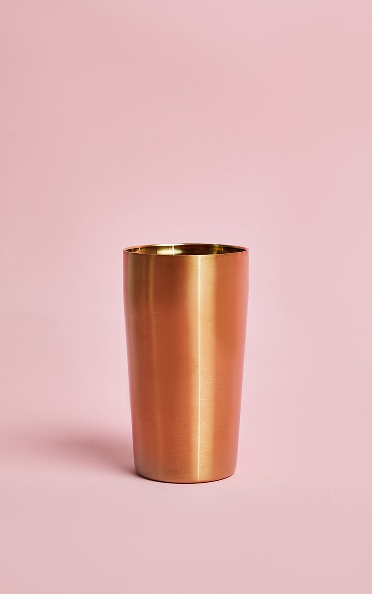 Gold Drinking Tall Tumbler 3