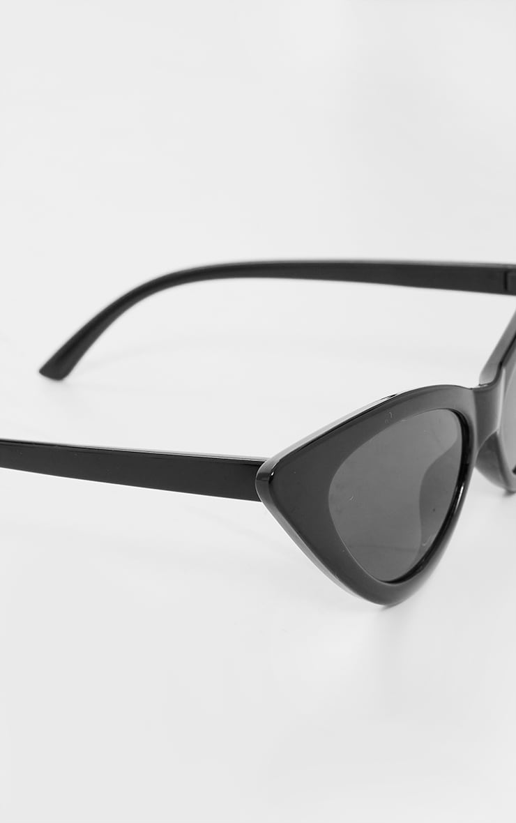 Black Cat Eye Retro Sunglasses 2