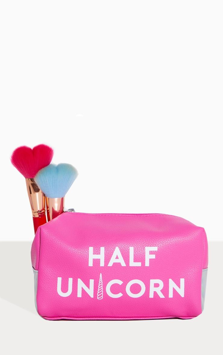Spectrum Half Unicorn Half Mermaid Make Up Bag 1
