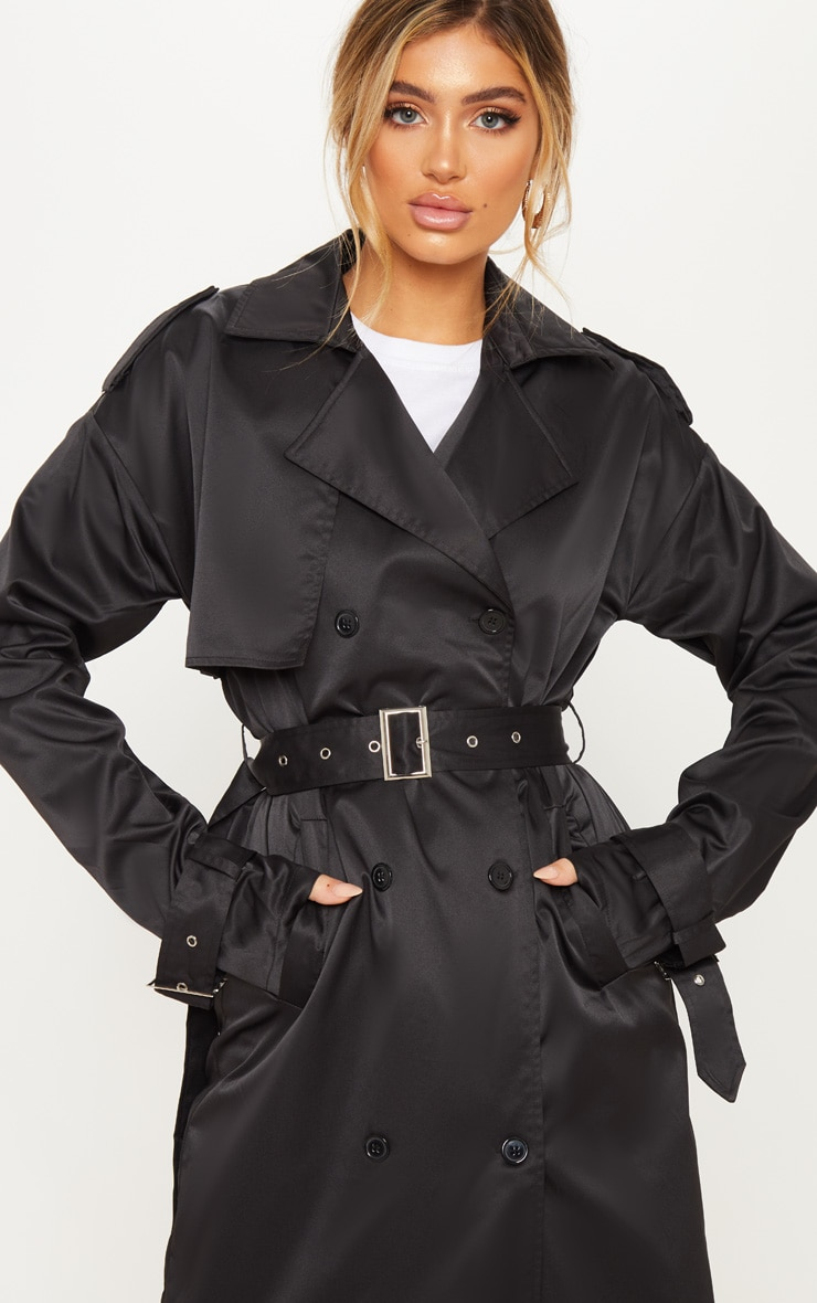 Black Trench Coat  5
