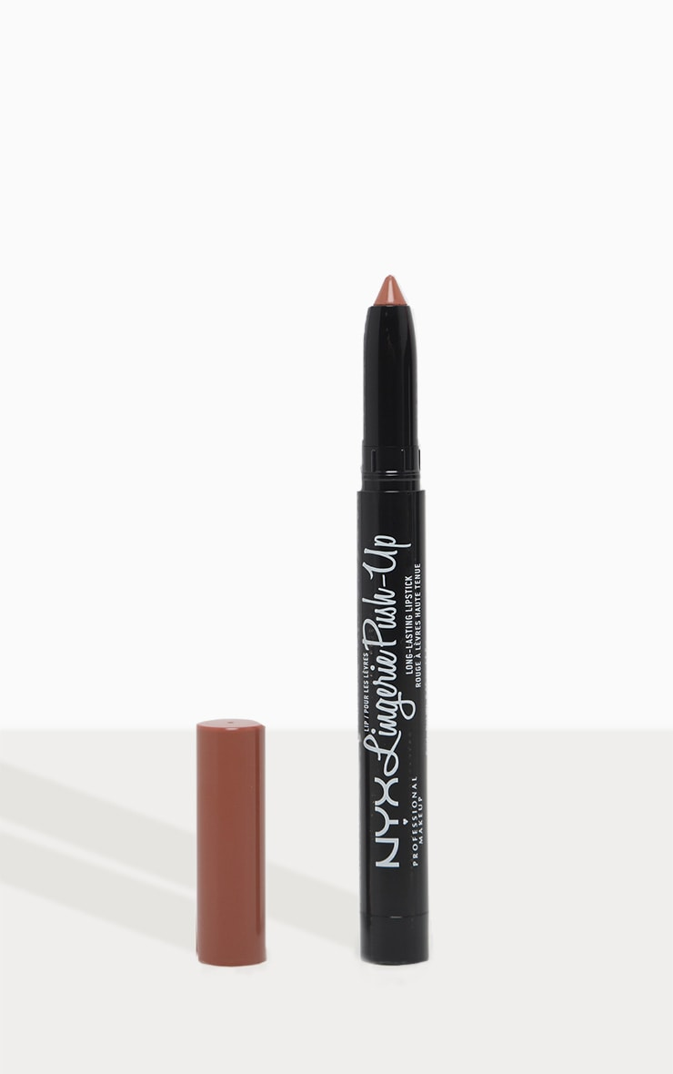 NYX Professional - Rouge à lèvres repulpant mat Lip Lingerie - Push-up 1