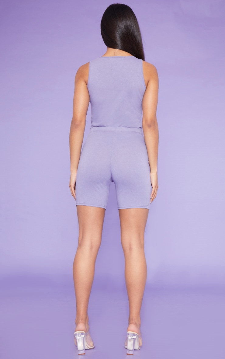 RECYCLE Violet Bike Shorts 4