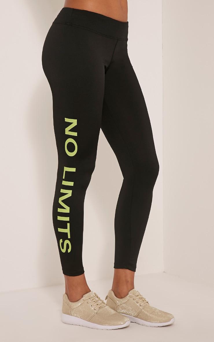 Jaya leggings jaunes No Limits 4