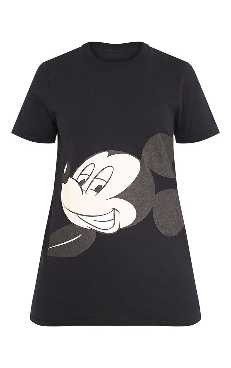 Mickey Mouse Black T Shirt  3