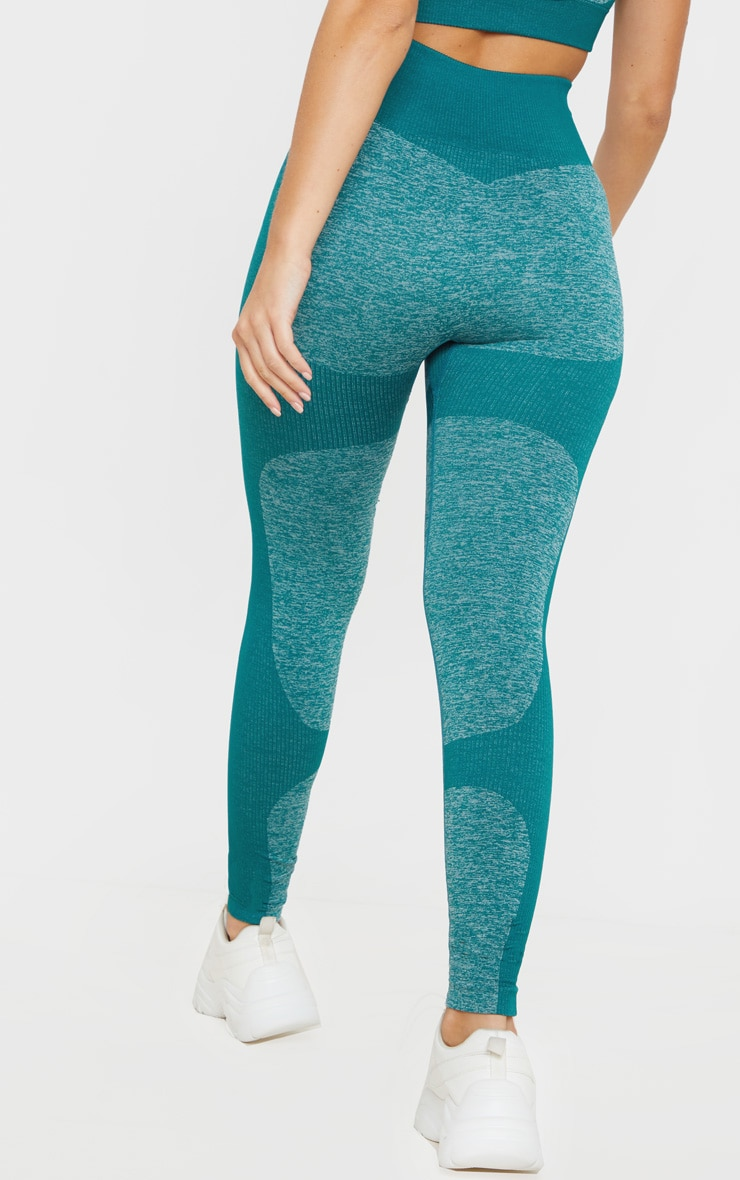 Emerald High Waist Seamless Legging 4