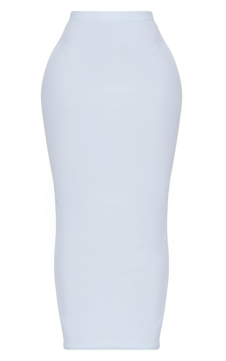 Shape Light Blue Midaxi Skirt  3