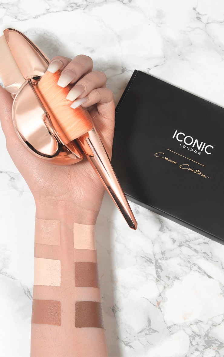 Iconic London Multi Use Cream Contour Palette 3