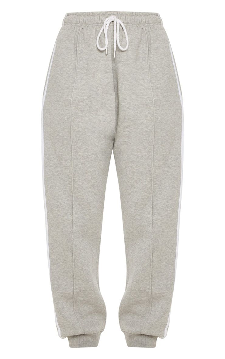 Grey Double Side Stripe Jogger 3