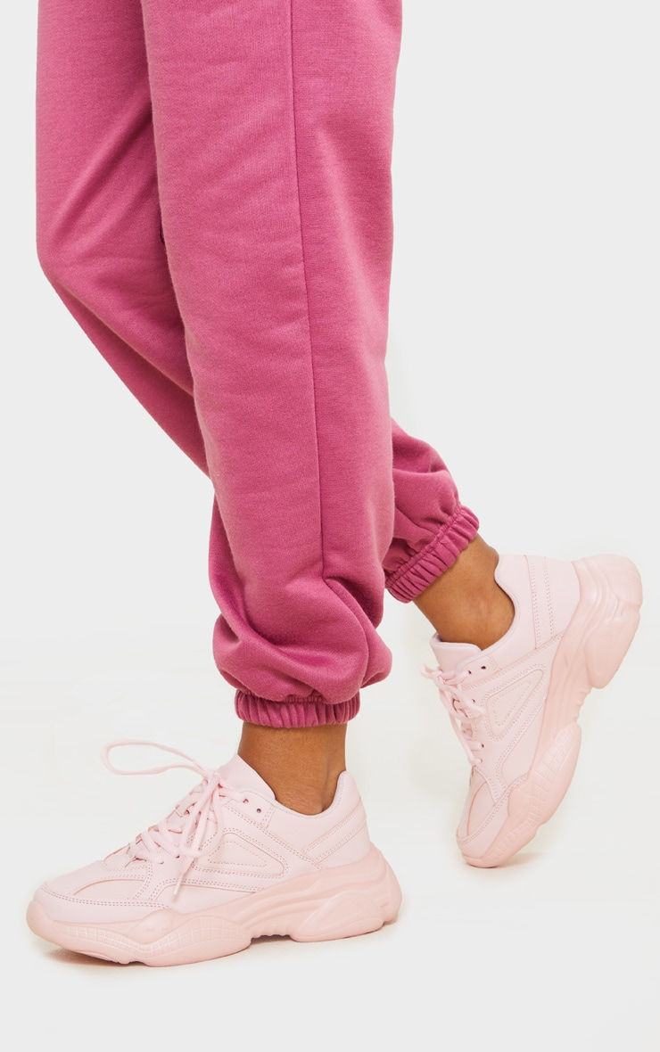 Blush Arch Sole Chunky Trainers 1