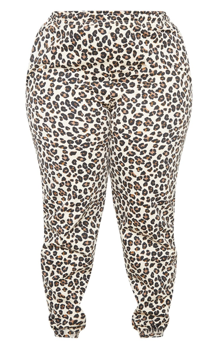 Plus Sand Cheetah Joggers 4