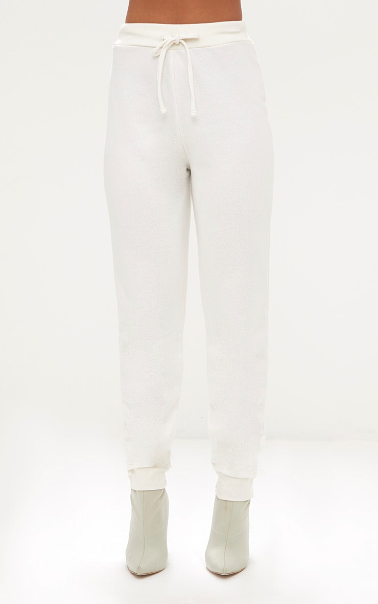 Cream Ultimate Sweat Jogger  2