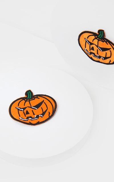 Orange Pumpkin Nipple Covers
