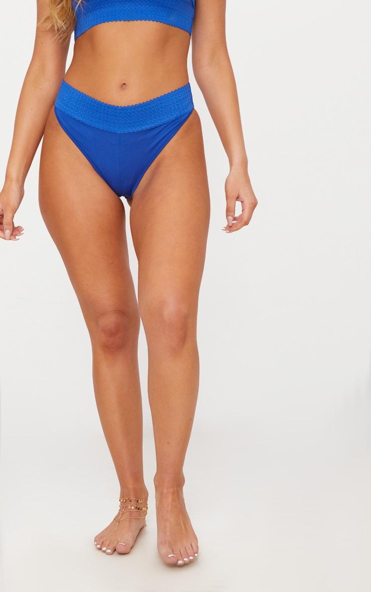 Cobalt Bandage Detail Bikini Bottom 2