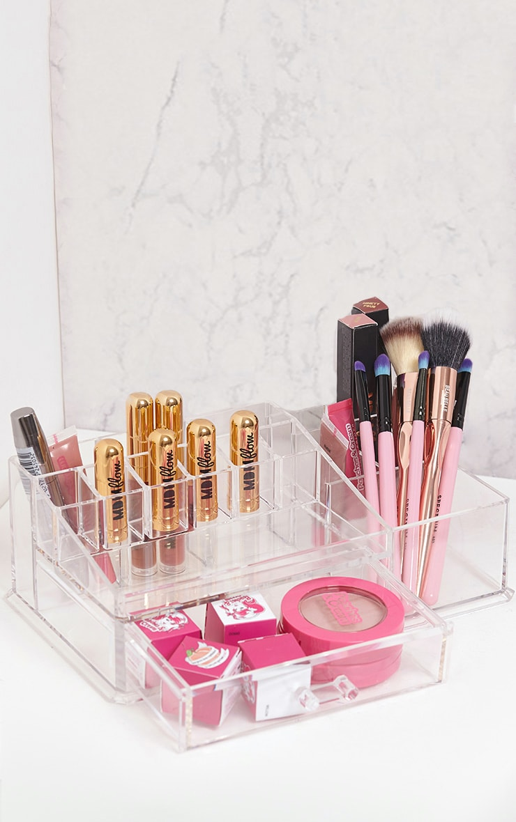 Technic Clear Cosmetics Organiser 1