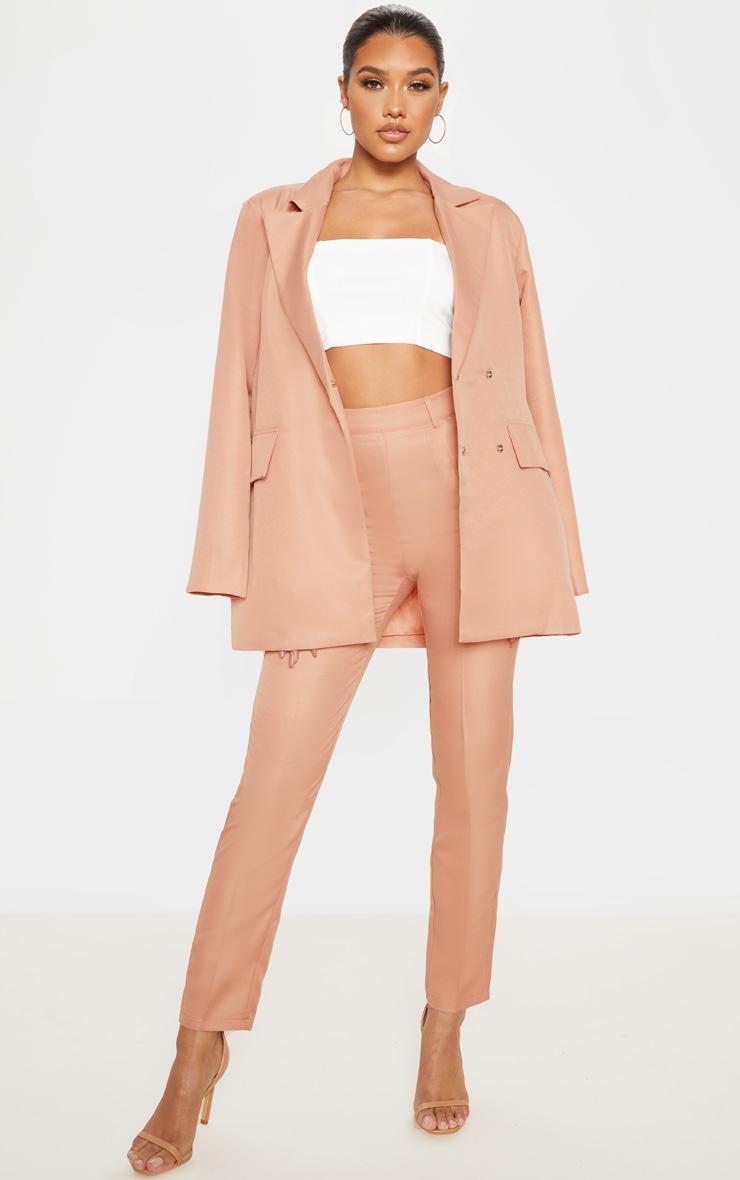 Rose Slim Suit Pants 1
