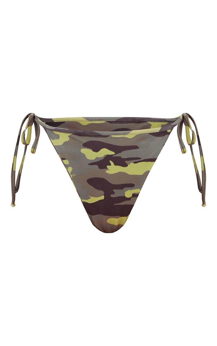 Camo Tie Side Bikini Bottom 2