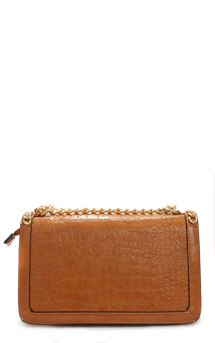 Ophelia Tan Chain Detail Bag 2