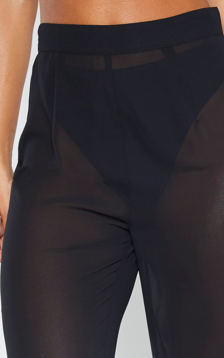 Black Beach Pants 2