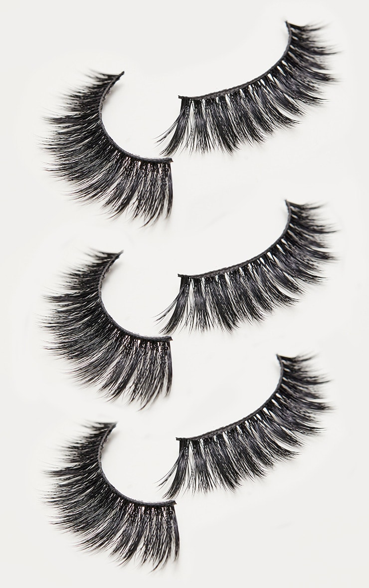 PRETTYLITTLETHING Honey Lash 3 Pack  2