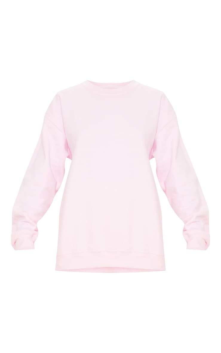 Light Pink Ultimate Oversized Sweater 3