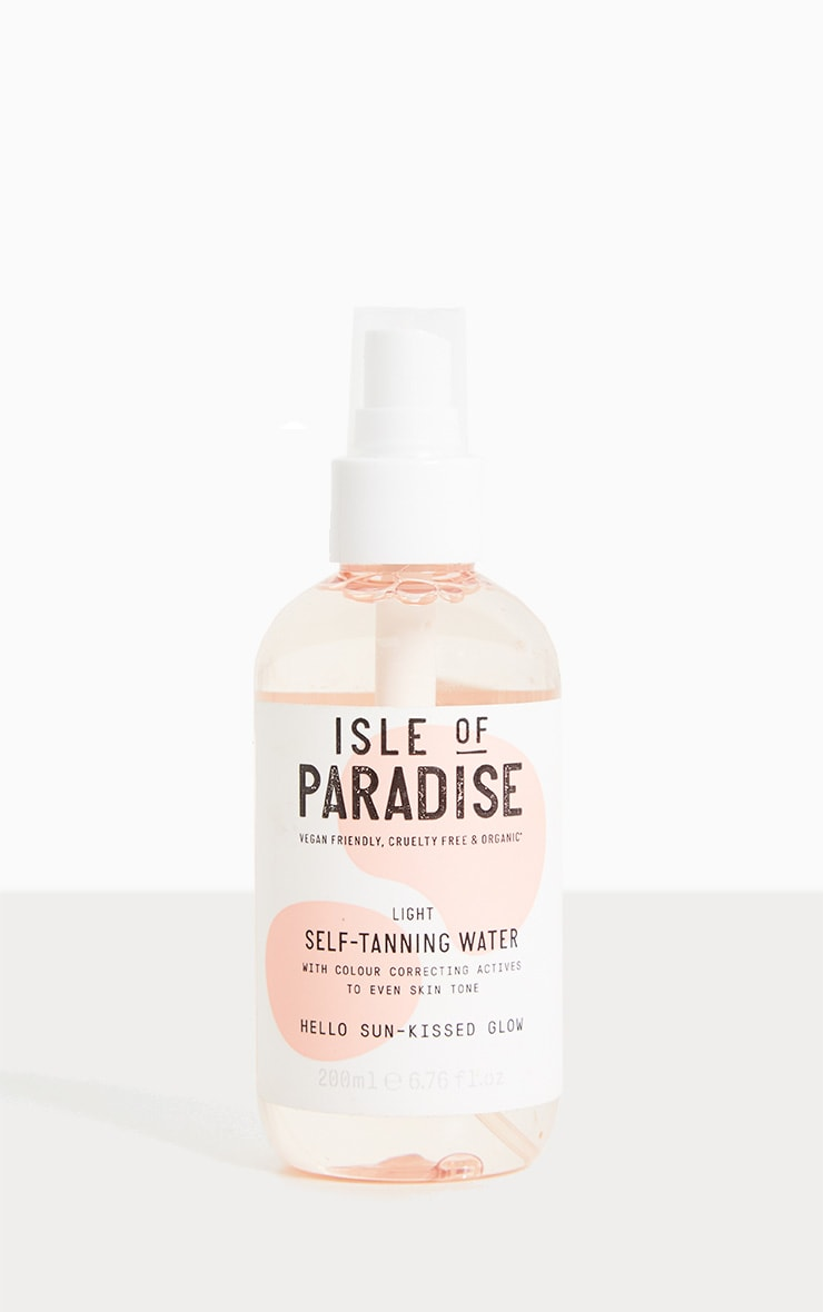 Isle of Paradise Light Self Tanning Water 1