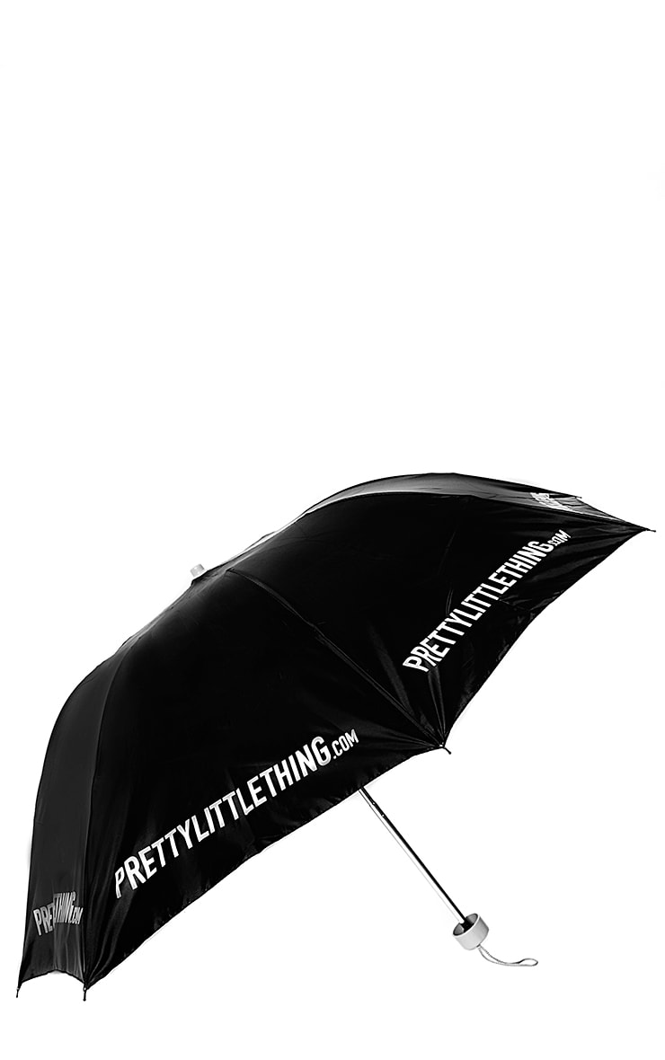 PrettyLittleThing Black Umbrella  1