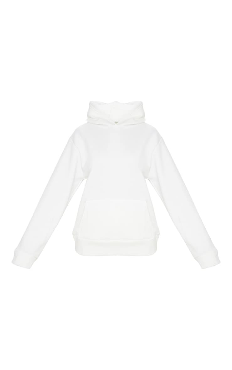 White Fleece Hoodie 5