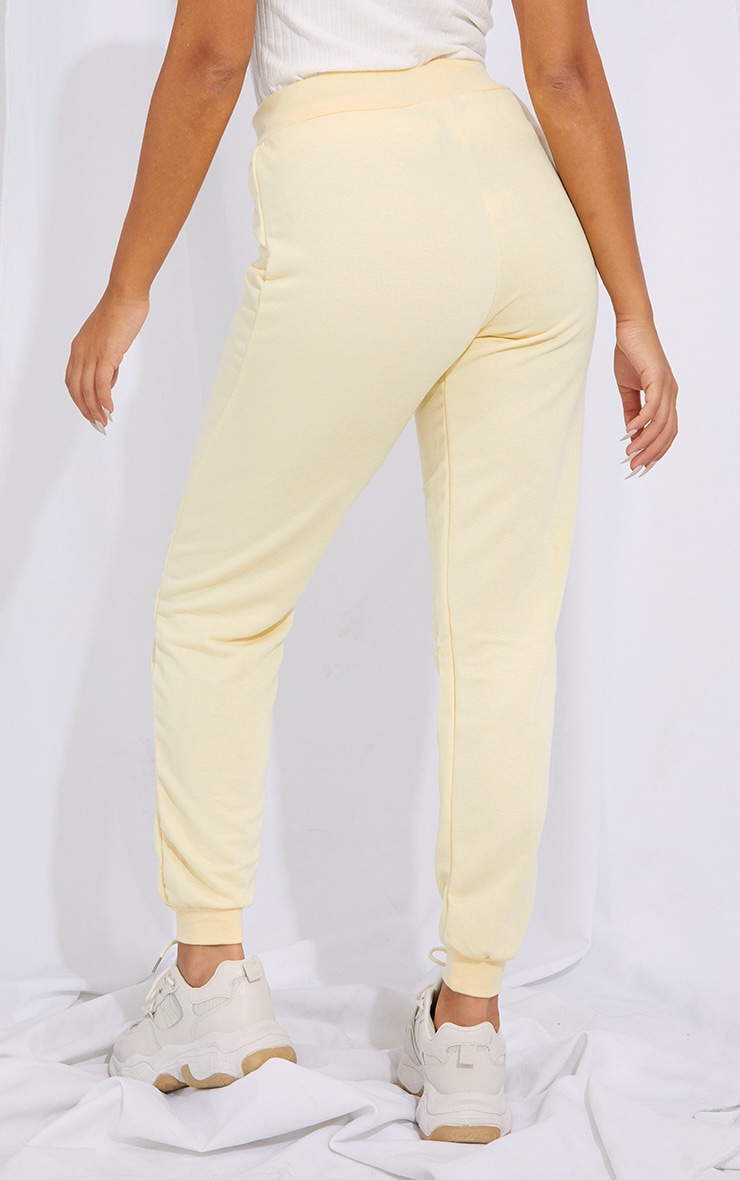 Petite Cream Ultimate Sweat Jogger 3