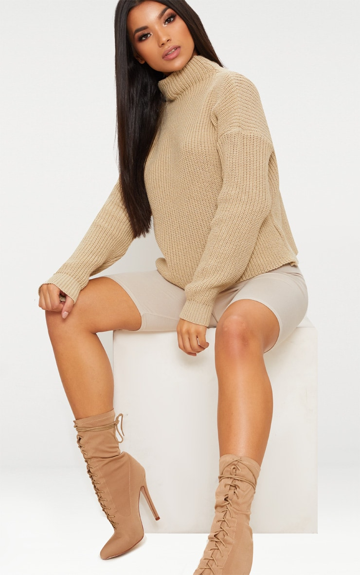 Stone High Neck Jumper 1