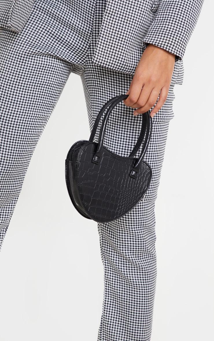 Black Heart Croc Heart Grab Bag 1