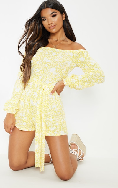 1139cde889632 Playsuits | Rompers | Women's Playsuits | PrettyLittleThing