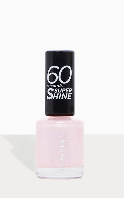 Rimmel 60 Seconds Super Shine Nail Polish Lose Your Lingerie