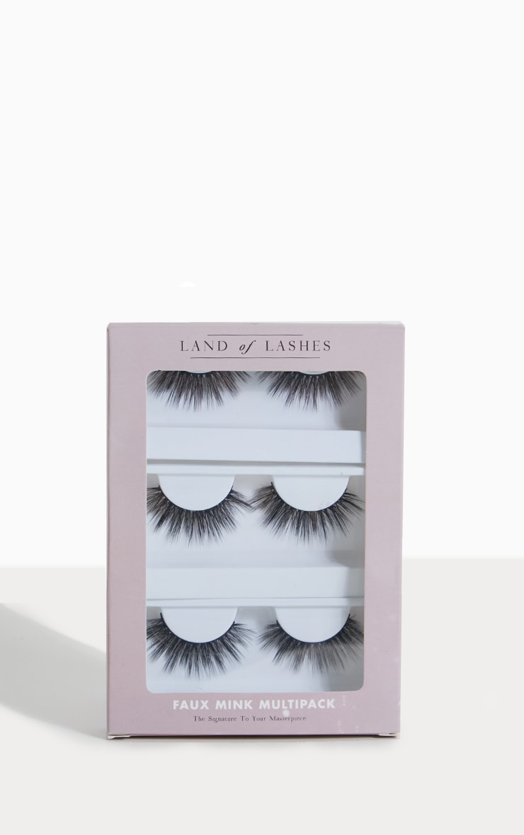 Land of Lashes Faux Mink Belle Multipack 1
