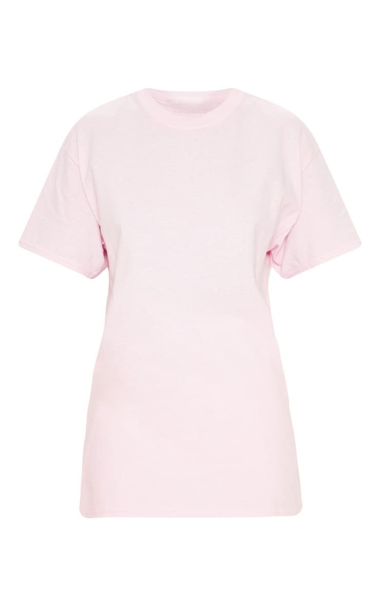 Ultimate Light Pink Oversized T Shirt 3