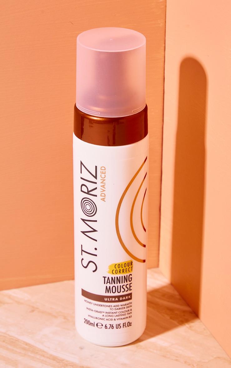 St Moriz Advanced Colour Correcting Tanning Mousse Ultra Dark 1