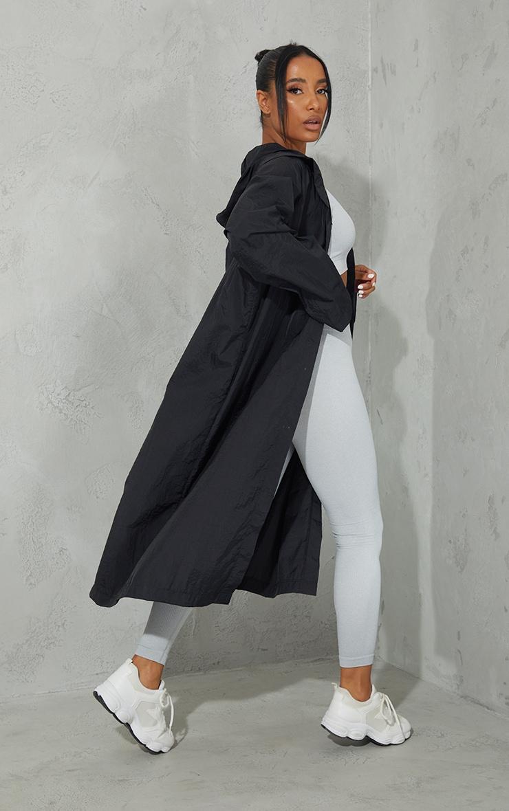 Black Light Weight Hooded Jacket 2