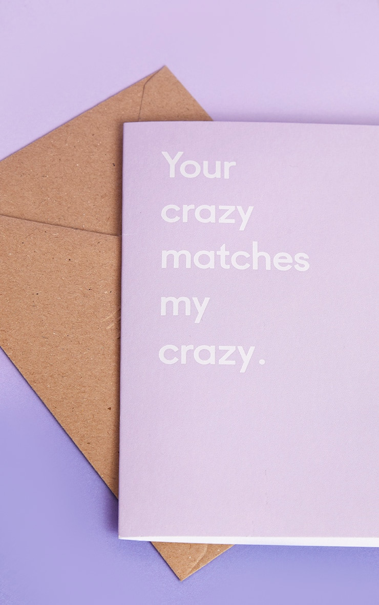 Ohh Deer Your Crazy Matches My Crazy Valentines Card 3