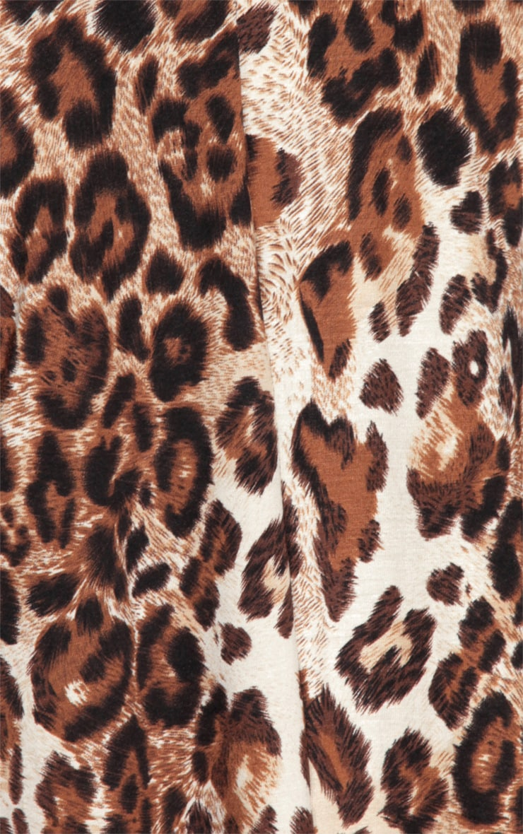 Bella Leopard Print Swing Dress 5