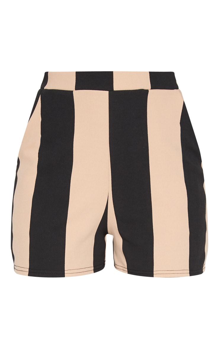 Stone Stripe Pocket Short 3