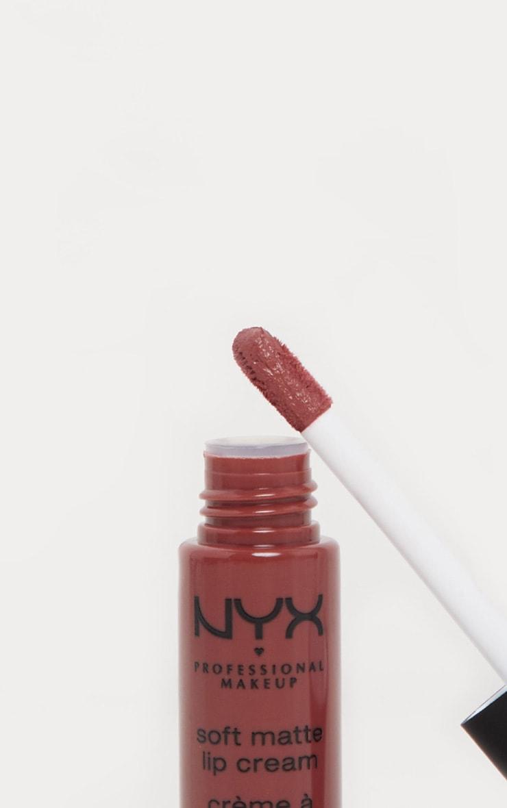 NYX PMU Soft Matte Lip Cream Rome 3