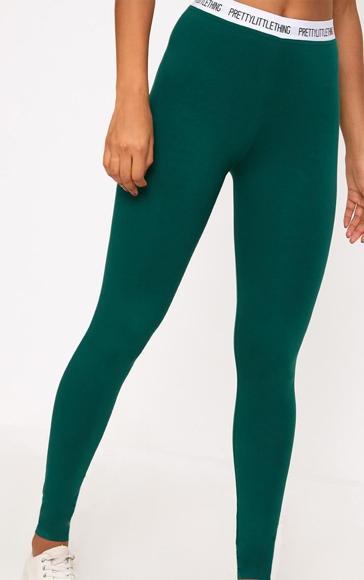 Green Prettylittlething Leggings 5