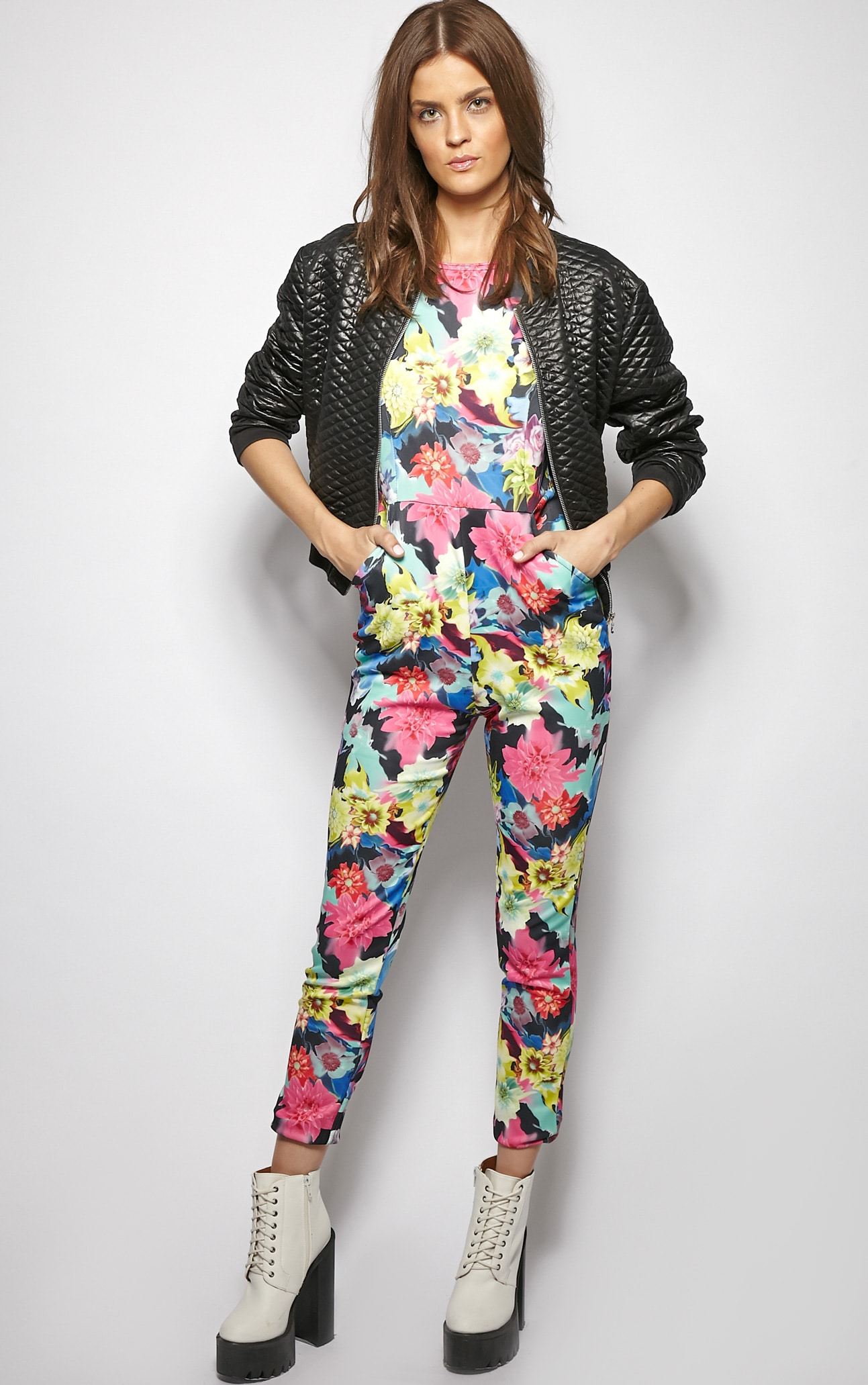 Angelica Exotic Floral Jumpsuit  3