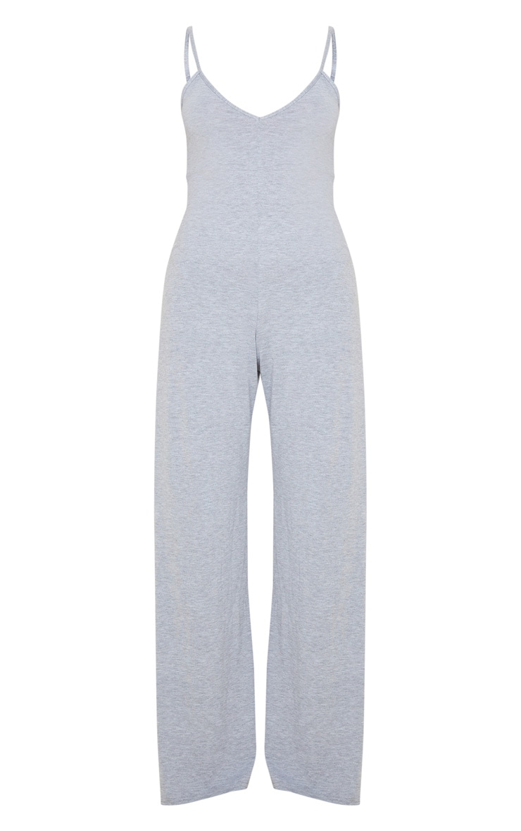 Grey Bedtime Jumpsuit 3