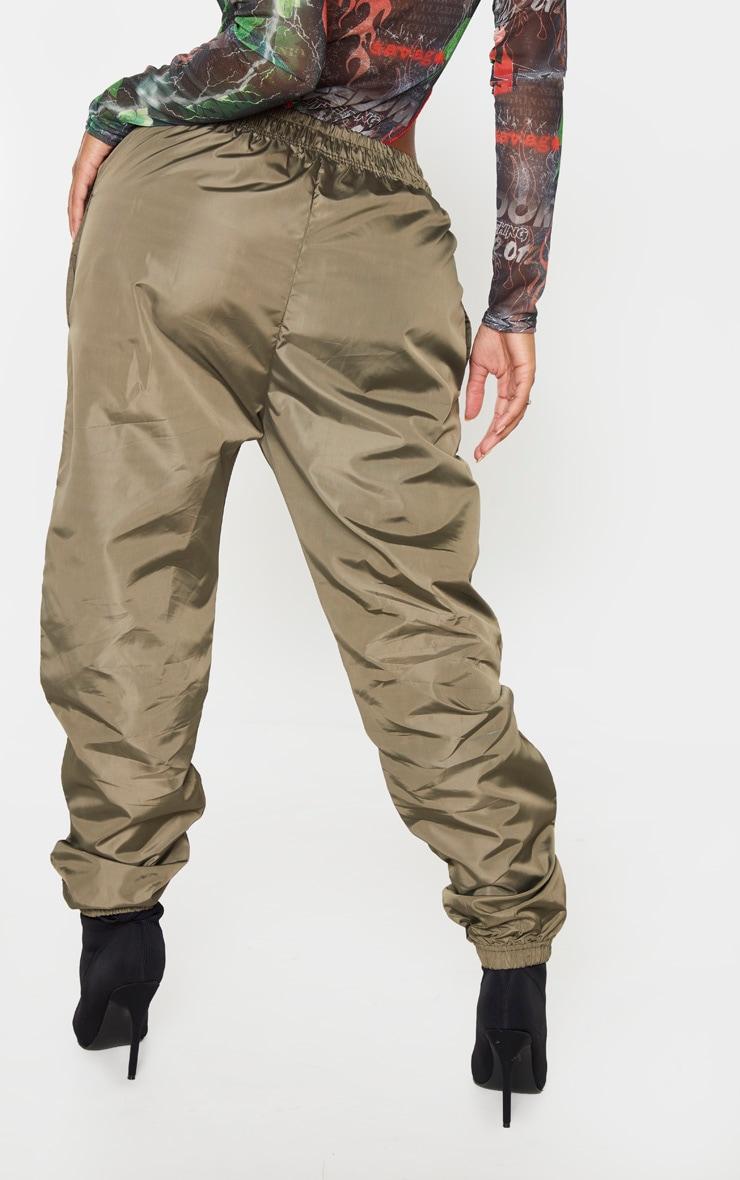 Shape Khaki High Waist Shell Track Pants 4